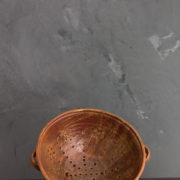 Hand-Thrown Ceramic Colander