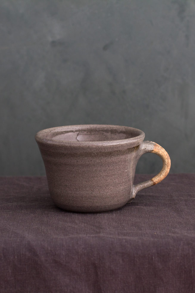 Hand Thrown Ceramic Cup Very Good Cook