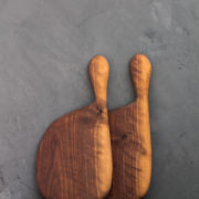 Hand-Carved Small Cutting & Serving Board (Walnut Wood)