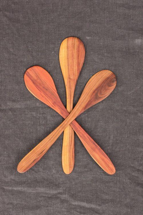 Hand-Carved Stirring Spoon (Plum Wood)