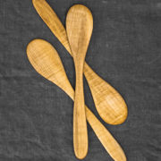 Hand-Carved Stirring Spoon (Maple Wood)