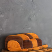 wooden cutting boards and spoons