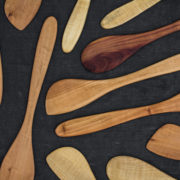 Hand-Carved Stirring Paddles