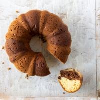 Vanilla Chocolate Marble Bundt Cake