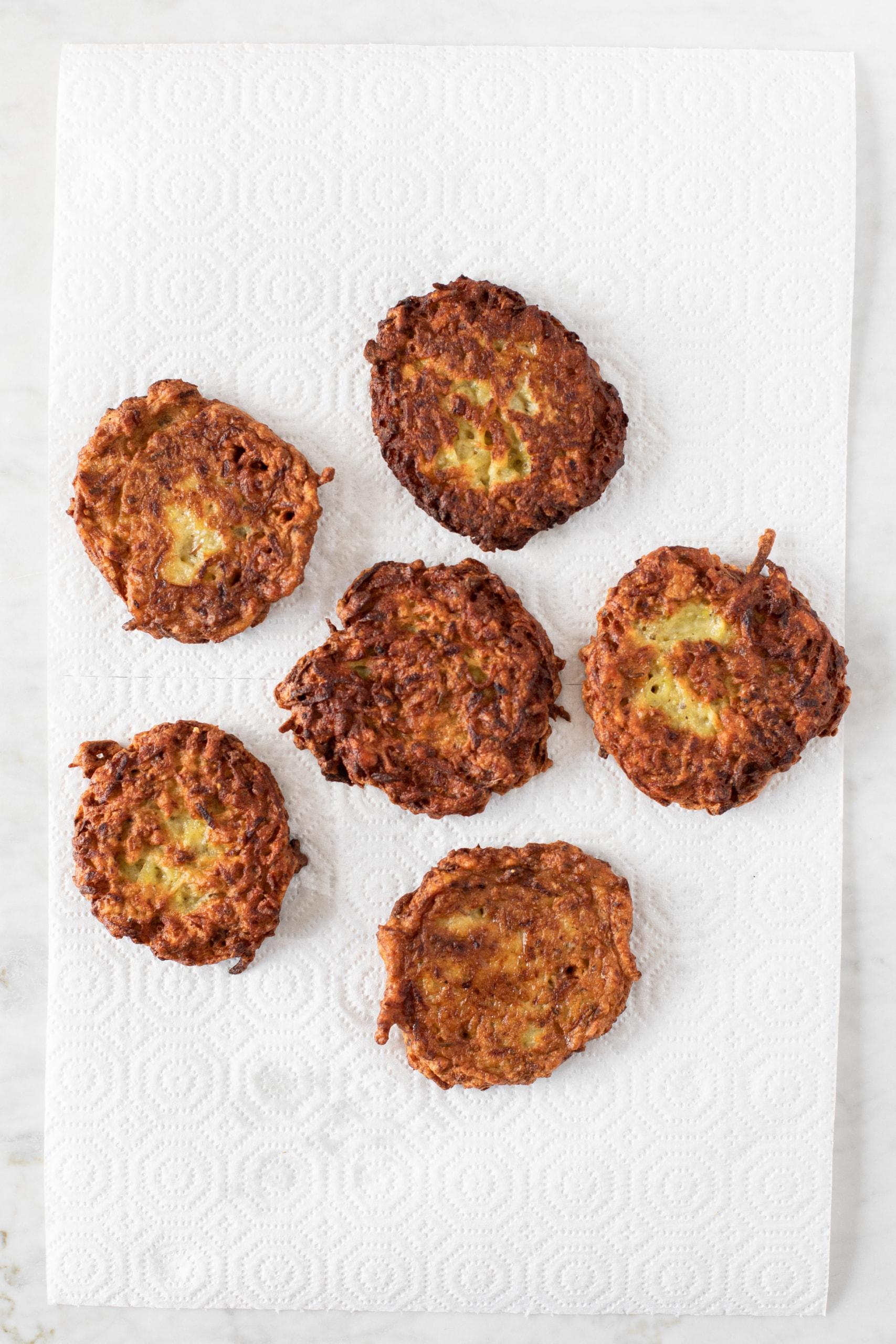 Czech potato pancakes (bramboráky) from verygoodcook.com