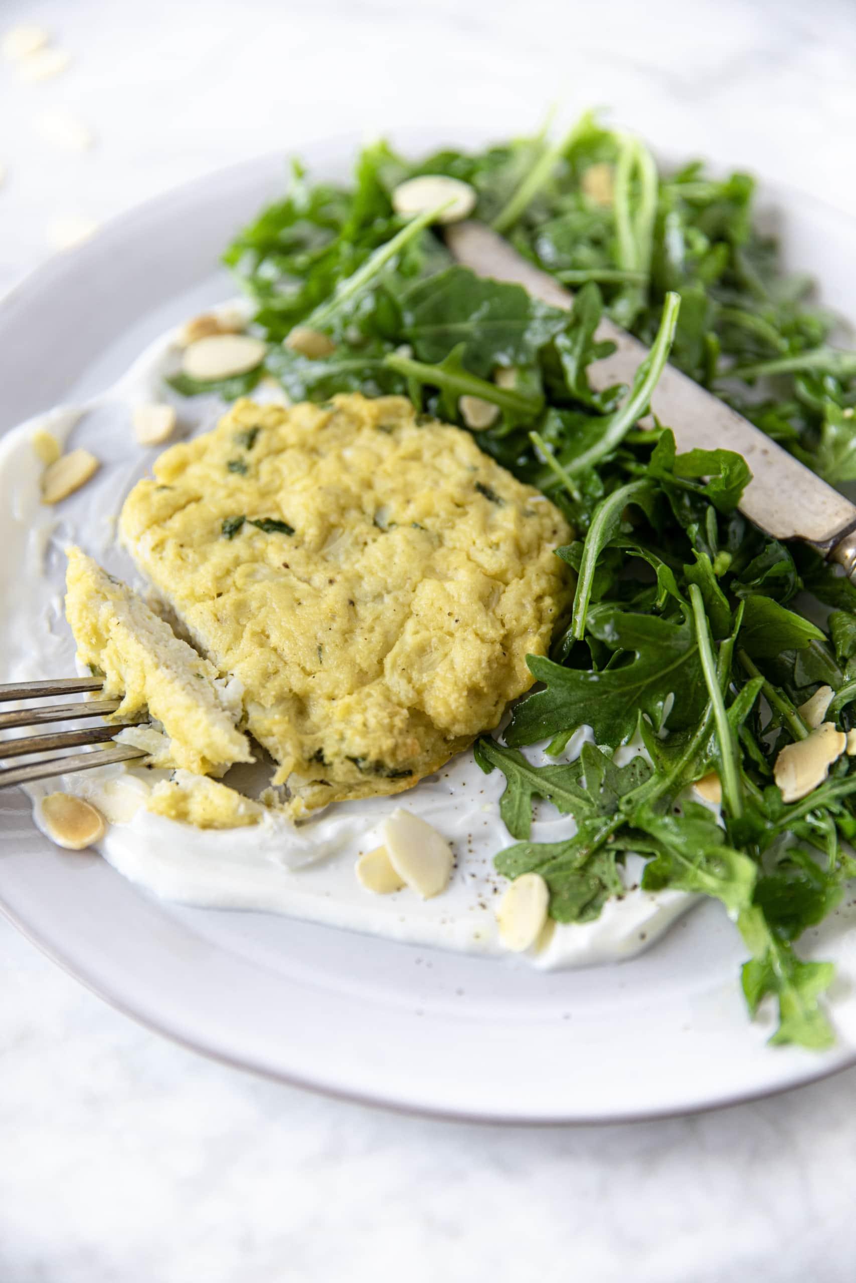 GF & Paleo Cauliflower Patties from verygoodcook.com